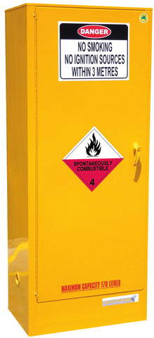 Spontaneously Combustible Storage Cabinet - 170L - STOREMASTA