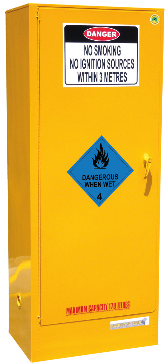 Dangerous When Wet Storage Cabinet - 170L - STOREMASTA