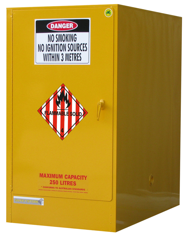Flammable Solid Storage Cabinet - 205L - STOREMASTA