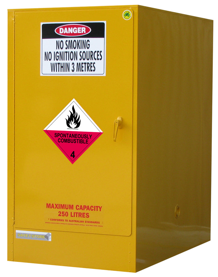 Spontaneously Combustible Storage Cabinet - 205L - STOREMASTA