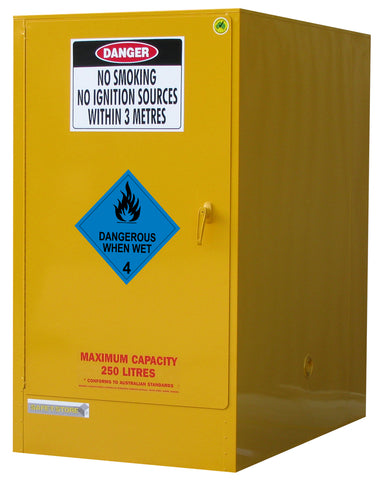 Dangerous When Wet Storage Cabinet - 205L - STOREMASTA