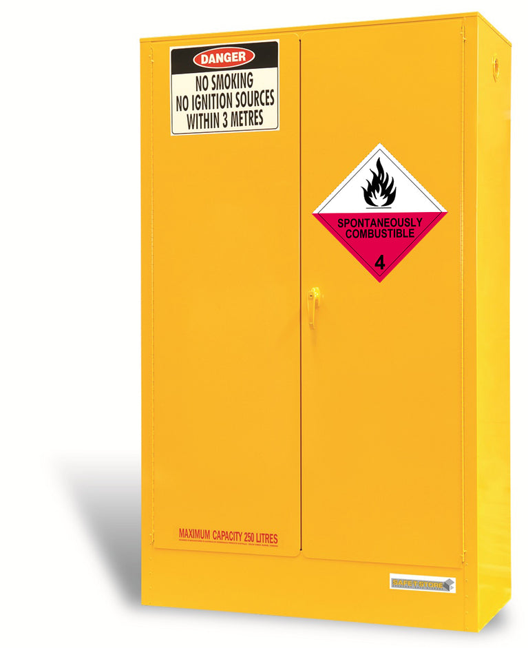 Spontaneously Combustible Storage Cabinet - 250L - STOREMASTA