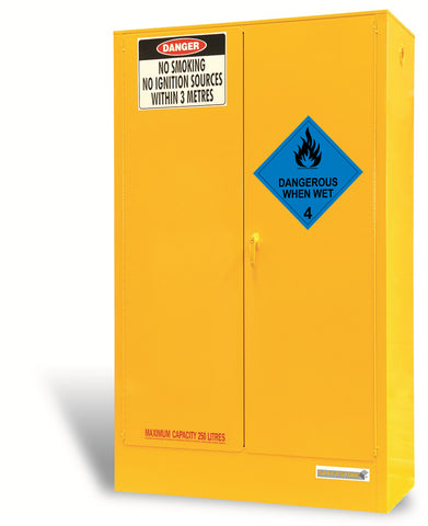 Dangerous When Wet Storage Cabinet - 250L - STOREMASTA