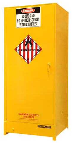 Flammable Solid Storage Cabinet - 250L - STOREMASTA