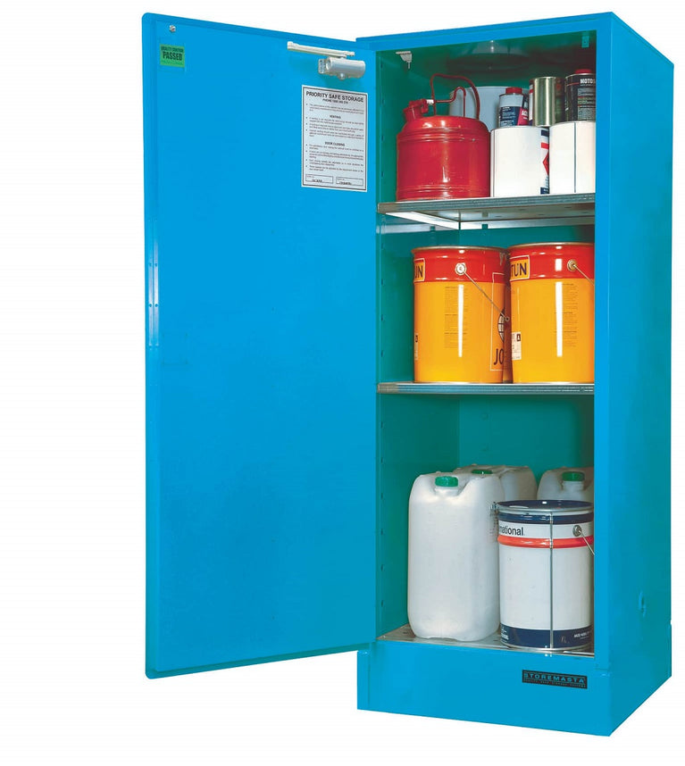 Single Door Corrosive Substance Storage Cabinet - 250L
