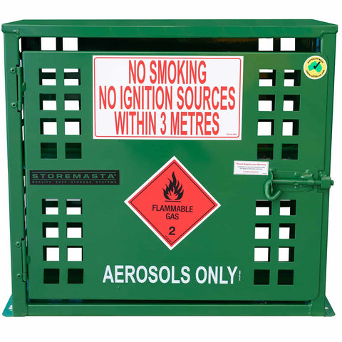 Aerosol Storage Cage - 72 Can
