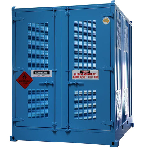 Relocatable Dangerous Goods Storage Container - 10'