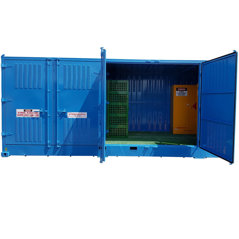 Relocatable Dangerous Goods Storage Container - 20'