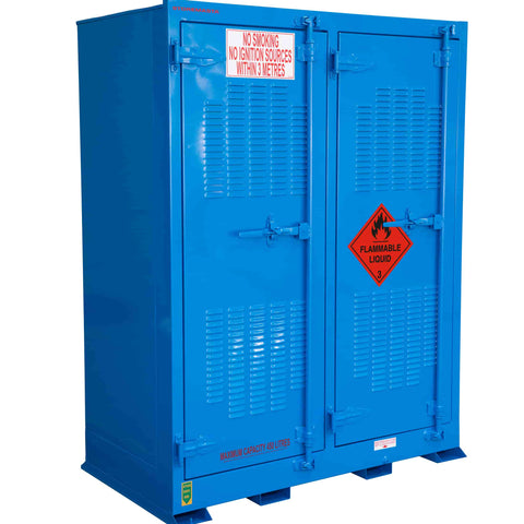 Outdoor Flammable Liquids Store - 450L
