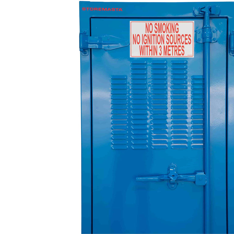 Outdoor Corrosive Substance Store -  450L