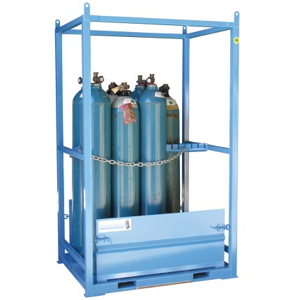 Gas Cylinder Store - Dual Sided Access - Large - STOREMASTA