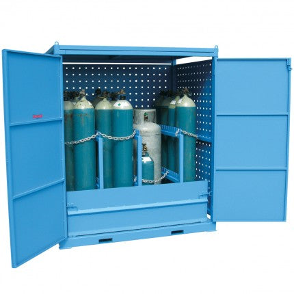 Gas Cylinder Store - Single Sided Access - XXLarge - STOREMASTA