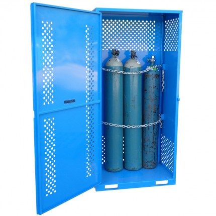 Gas Cylinder Store - Single Sided Access - Medium - STOREMASTA