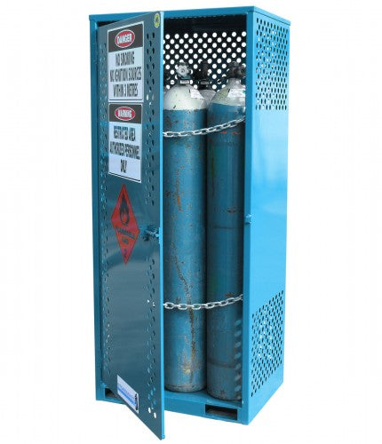 Gas Cylinder Store - Single Sided Access - Large - STOREMASTA