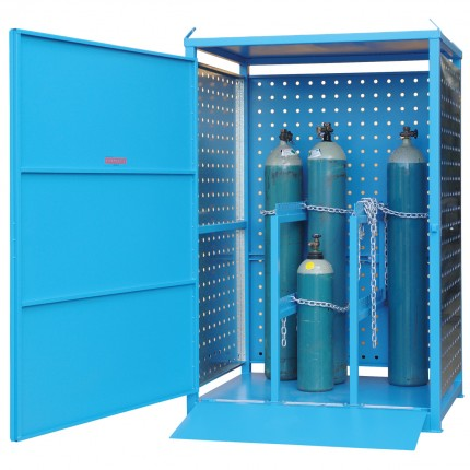 Gas Cylinder Store - Single Sided Access - XLarge - STOREMASTA