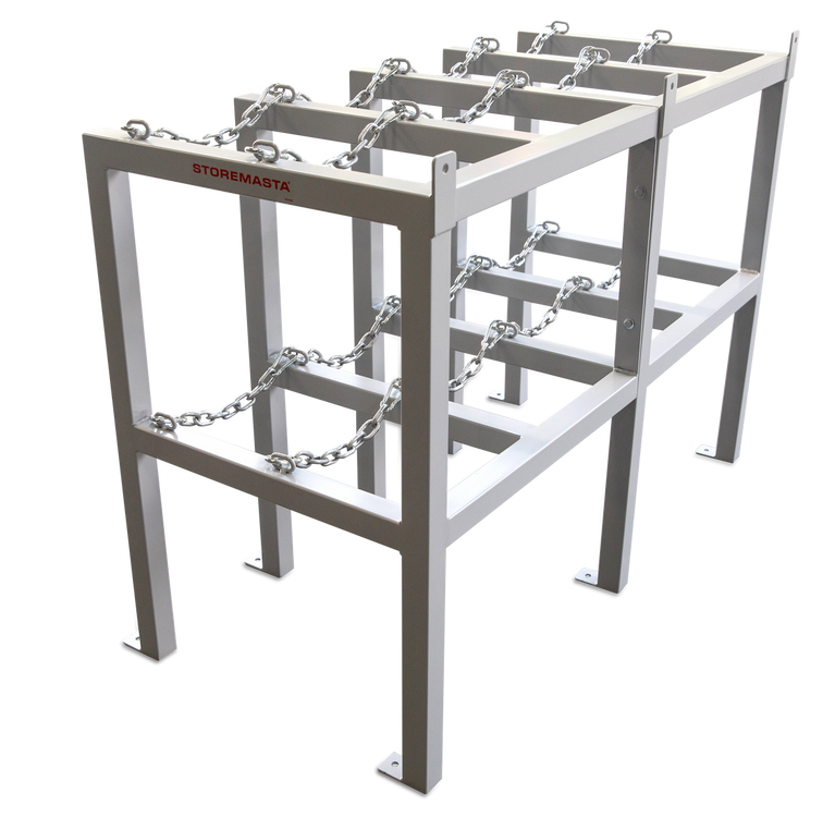 Gas Cylinder Rack 2 Deep X 2 Wide - Right