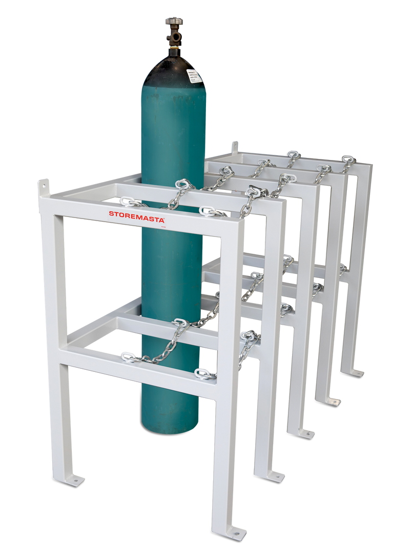 Gas Cylinder Rack 2 Deep X 1 Wide - Right