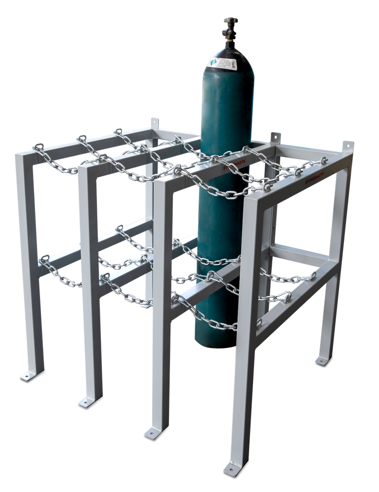Gas Cylinder Rack 3 Deep X 2 Wide - Right