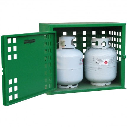LPG Bottle Store - 2 x 9kg bottle - STOREMASTA