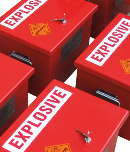 Explosive Storage Day Box - Medium - STOREMASTA
