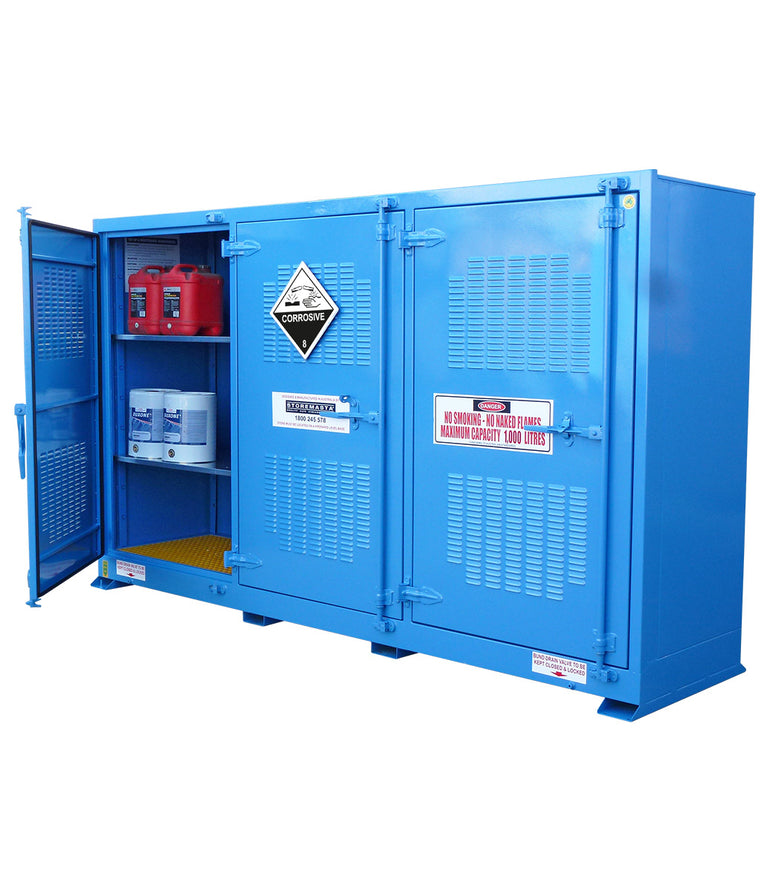 Outdoor Corrosive Substance Store -  1000L