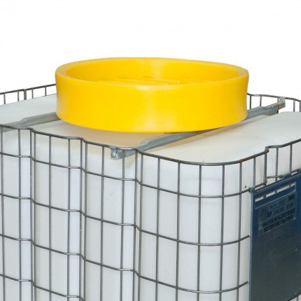 Spill Funnel with Debris Strainer for 1000L IBC - STOREMASTA