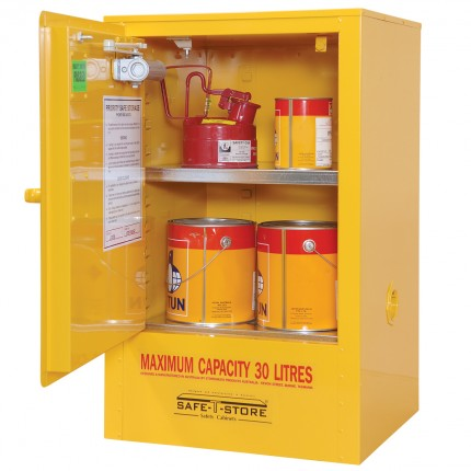 Flammable Liquid Storage Cabinet - 30L - STOREMASTA