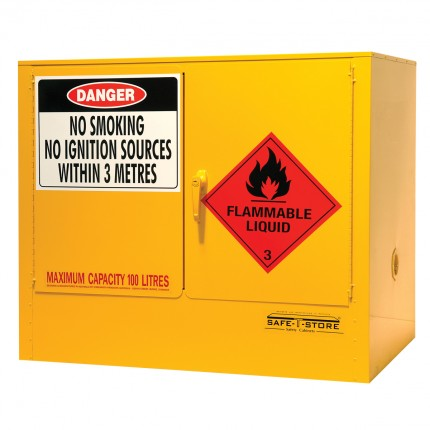 Flammable Liquid Storage Cabinet - 100L - STOREMASTA