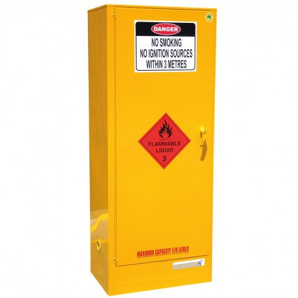 Flammable Liquid Storage Cabinet - 170L - STOREMASTA