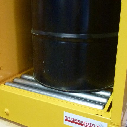 Flammable Liquid Storage Cabinet wtih Roller Base - 250L - STOREMASTA