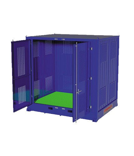 Relocatable Dangerous Goods Storage Container - 10' - STOREMASTA