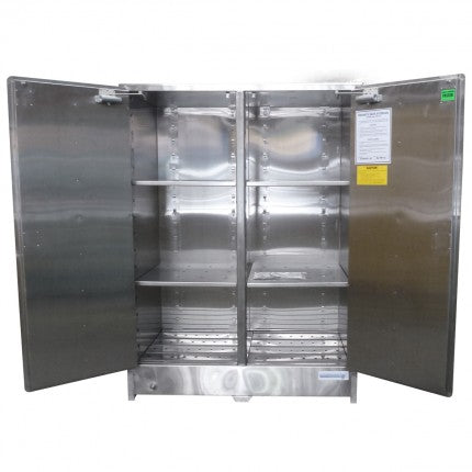 Stainless Steel Large Capacity Safety Cabinet - 250L - STOREMASTA