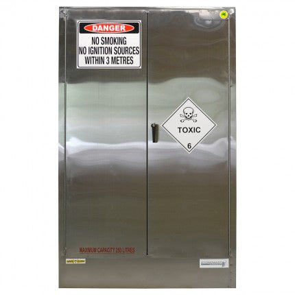 Stainless Steel Safety Cabinet - 250L - STOREMASTA