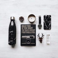 Black Marble Bottle 500ml