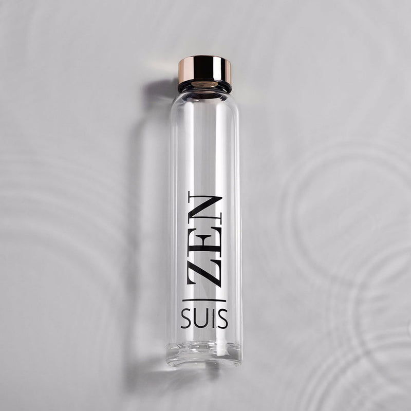 Suis 'Zen' Glass Water Bottle