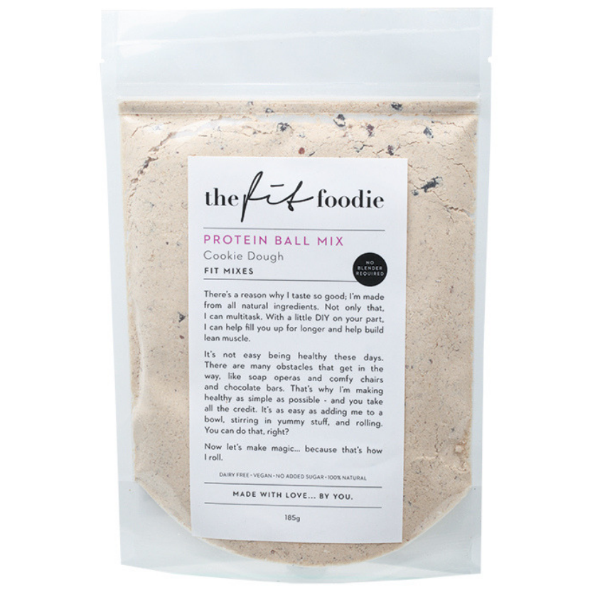 The Fit Foodie Protein Ball Mix - Cookie Dough