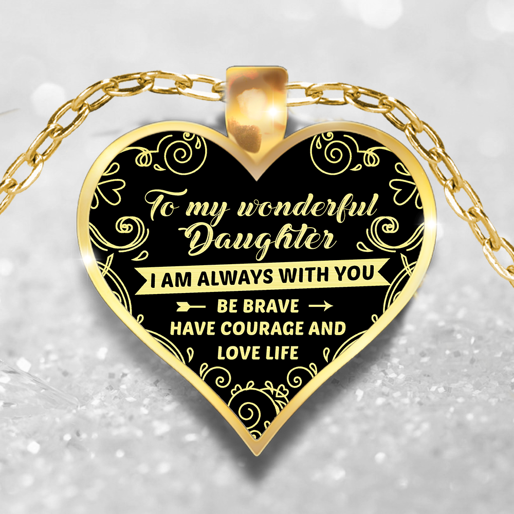 sheva hope affirmation necklace jewelry strength courage faith products ribbon love large