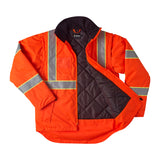 Brahma Endurance 2 in 1 Safety Jacket - Orange - open