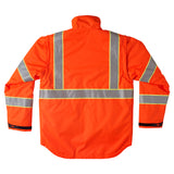 Brahma Endurance 2 in 1 Safety Jacket - Orange - back