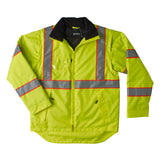 Brahma Endurance 2 in 1 Safety Jacket - Yellow