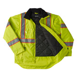 Brahma Endurance 2 in 1 Safety Jacket - Yellow - open