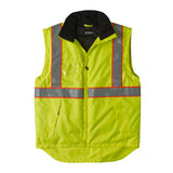 Brahma Endurance 2 in 1 Safety Jacket - Yellow - vest