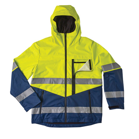 Hurricane D/N Waterproof Hoodie Jacket - Brahma Industrial Workwear