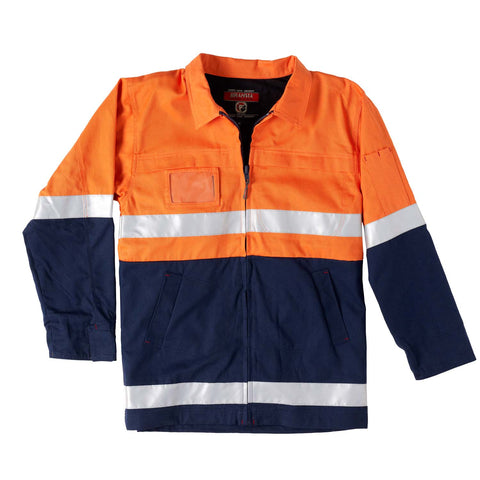 Jubilee Cotton Safety Jacket - Brahma Industrial Workwear