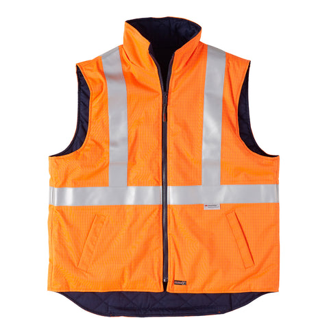 Platinum Vest - Flame Retardant & Anti Static - Brahma Industrial Workwear