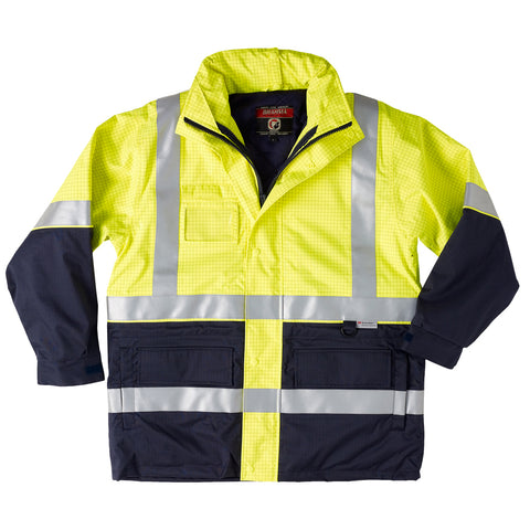 Platinum Jacket - Flame Retardant & Anti Static - Brahma Industrial Workwear