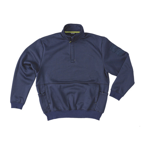 1/4 Zip Brushed Fleece Pullover - Brahma Industrial Workwear