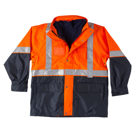 Tempest 4 in 1 Safety Jacket - Brahma Industrial Workwear