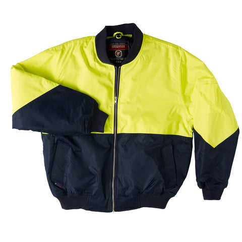Two Tone Flying Jacket - Brahma Industrial Workwear