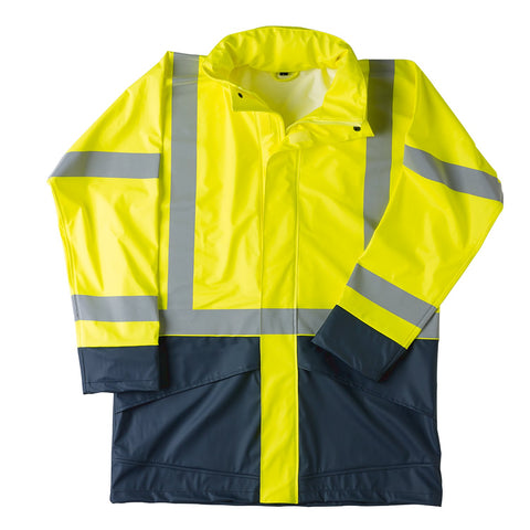 Typhoon X2 D/N Waterproof Coat - Brahma Industrial Workwear